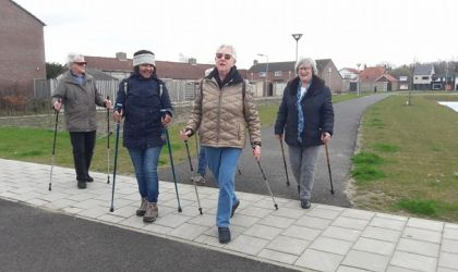 Nordic Walking, Axel
